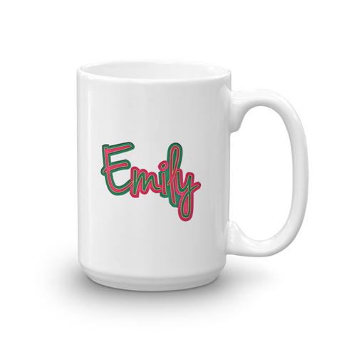 EMILY Mug - Design Forms Of Art