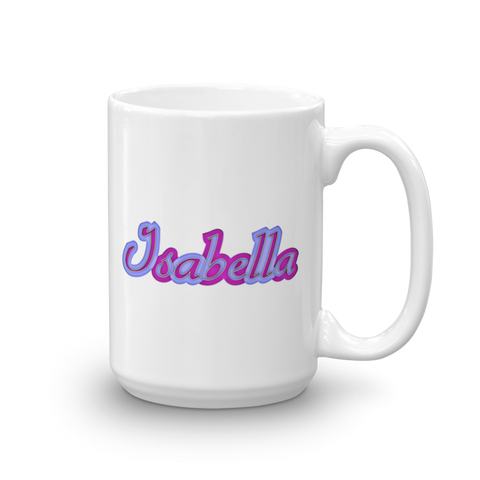 ISABELLA Mug - Design Forms Of Art