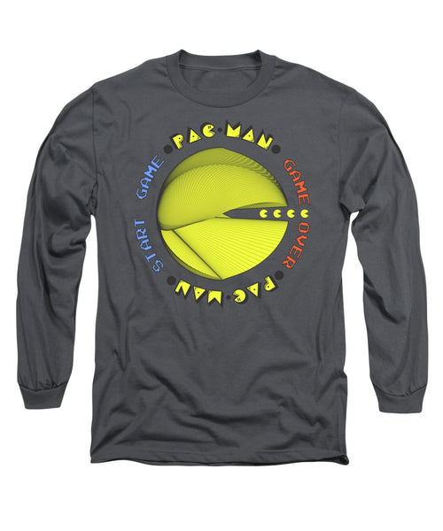 Pac-man Cherokee - Long Sleeve T-Shirt - Design Forms Of Art