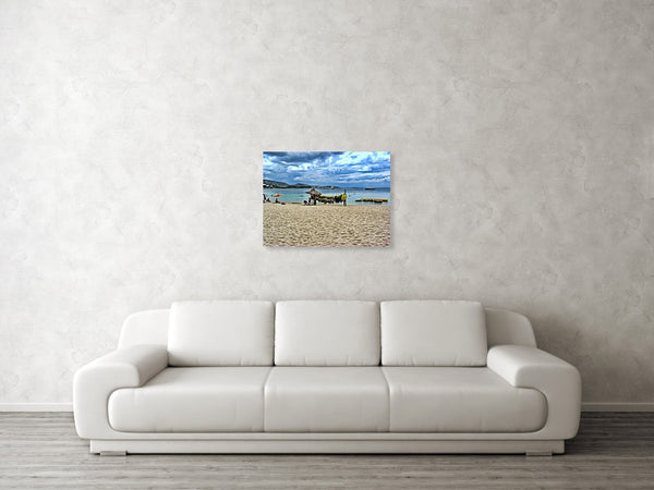 Palma De Mallorca - Clouds Blazing Shore - Art Print