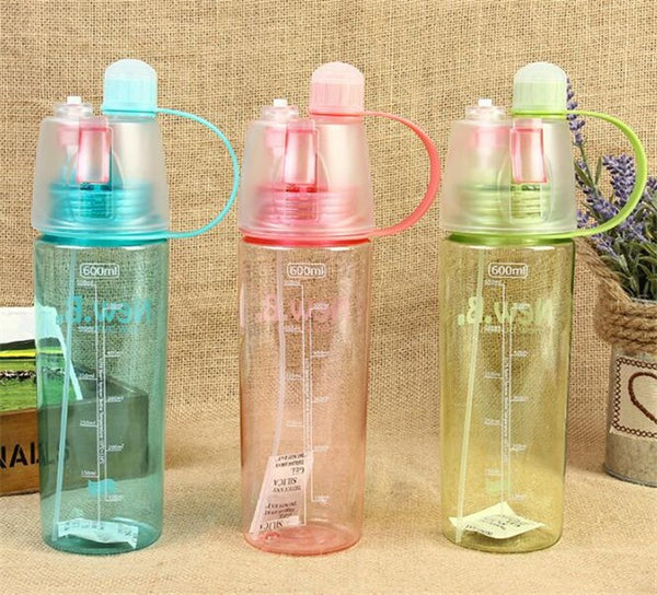 Healthy Smoothie Sport Spray Water Bottle - Free Shipping