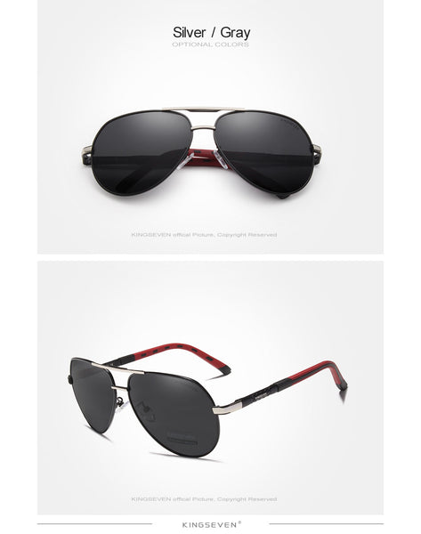 Retro Pilot Coating Lens Men Sunglasses