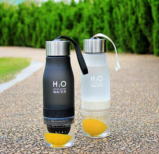 Healthy Smoothie Sports Lemon Water Bottle - Free Shipping
