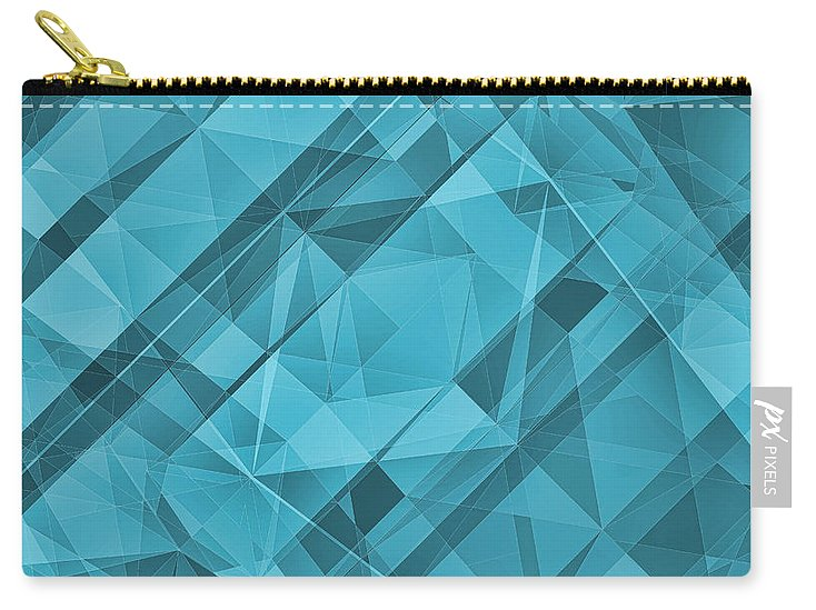 Sky Crystallization - Carry-All Pouch - Design Forms Of Art