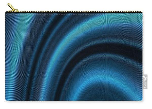 The Magical Hypnotic Metallic Waves - Carry-All Pouch - Design Forms Of Art