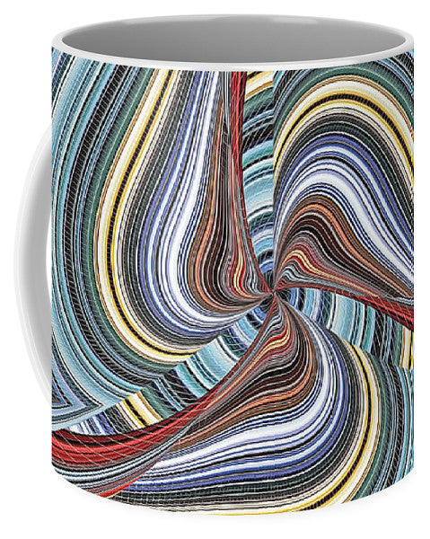 Twisted Colorallization - Mug - Design Forms Of Art