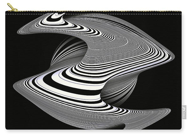 Twisted Stormy Planet - Carry-All Pouch - Design Forms Of Art