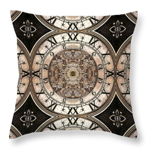 WatchMechanisMadness  - Throw Pillow - Design Forms Of Art