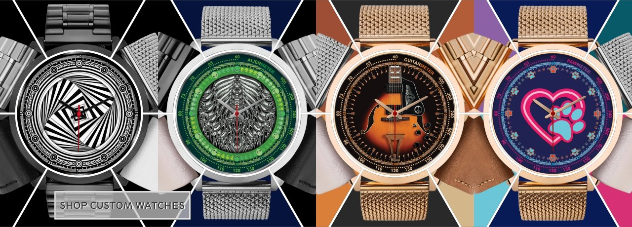 Custom Watches - Design Forms Of Art