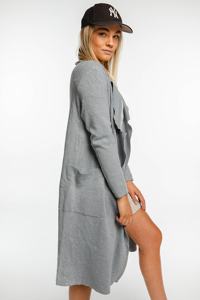London Coat (Grey)