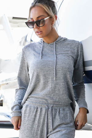 LOUNGE Trackies (Alaska Grey)