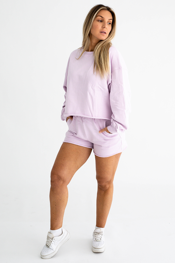 Jersey Shorts (Lilac)