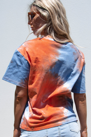 Jagger Tee (Orange/Blue)