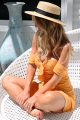 Sunset Dress (Orange)