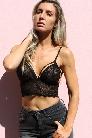 Sorrento Bralette (Black)