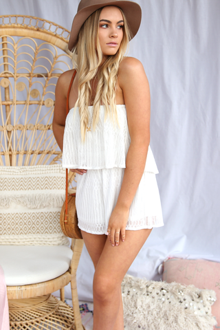Cali Lace Playsuit
