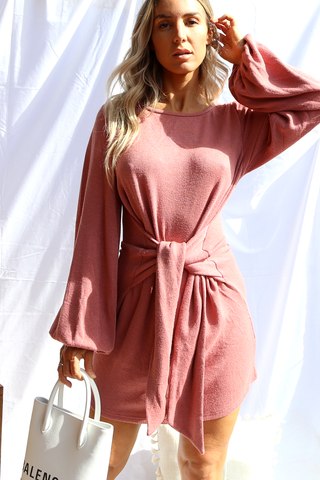 Izabel Dress (Rose)