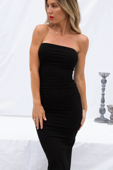 Kylie Bodycon Dress (Black)
