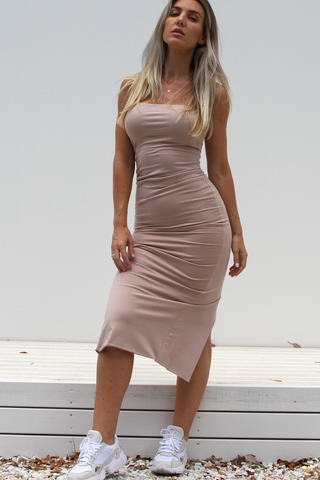 Kylie Bodycon Dress (Blush)