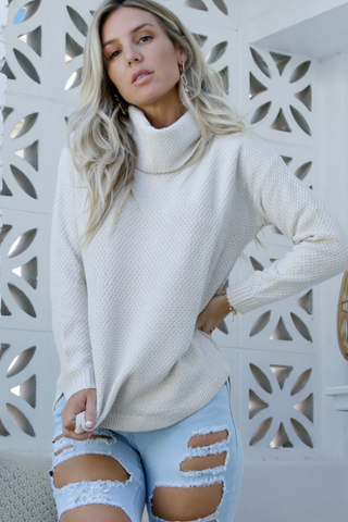 Lila Rose Knit (Oatmeal)