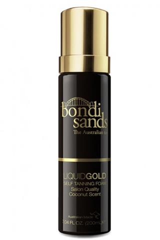 LIQUID GOLD SELF TANNING FOAM - 200ML