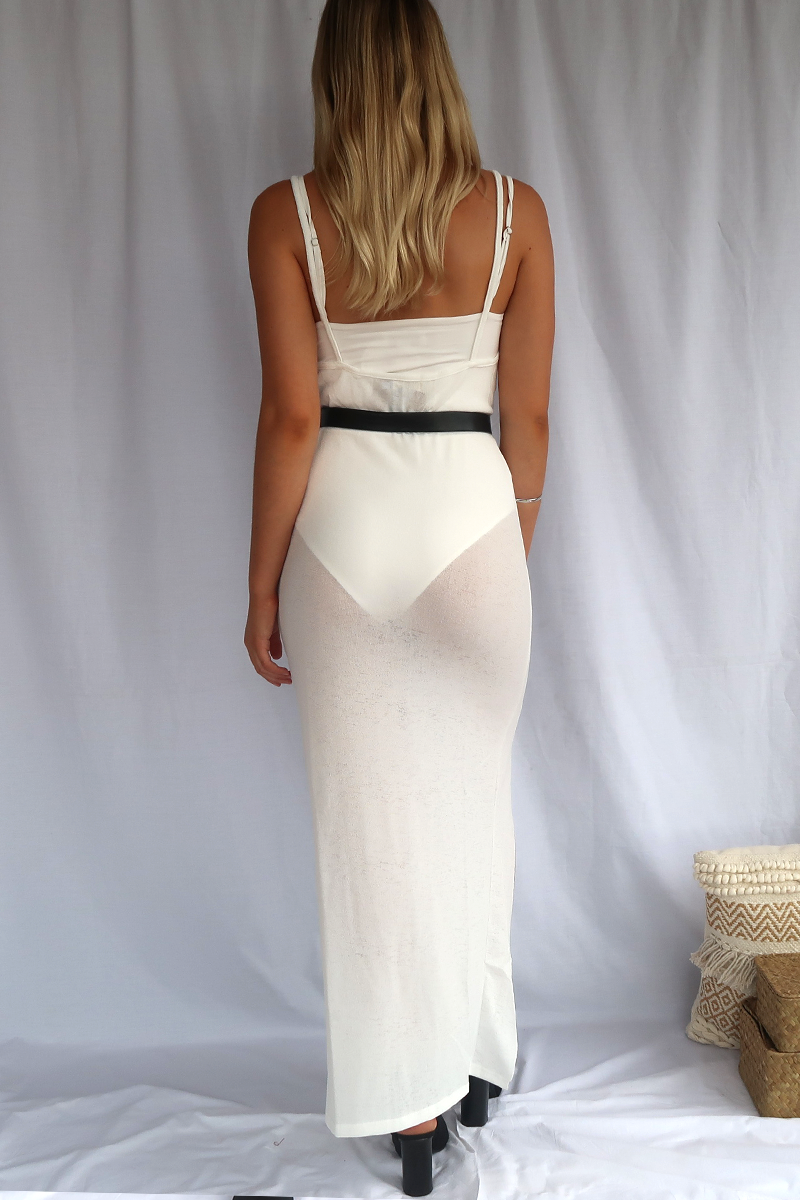 Mediterranean Dress (White)