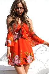 St Tropez Dress (Orange)