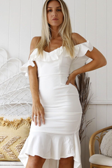 Pandora Corset Dress (White)