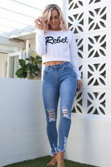 Rebel Jumper (White)