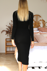 Sabina Dress (Black)
