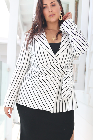 Isla Pin stripe Blazer