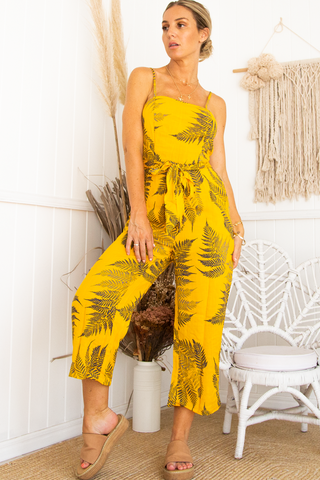 Rio Jumpsuit (Yellow)