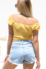 Mila Knot Top (Honey)