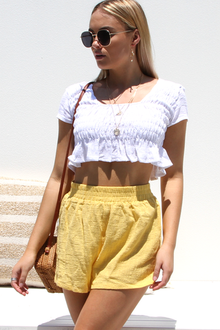 Poppy Shorts (Yellow)