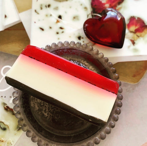 Raspberry Cheesecake Soap 150gm