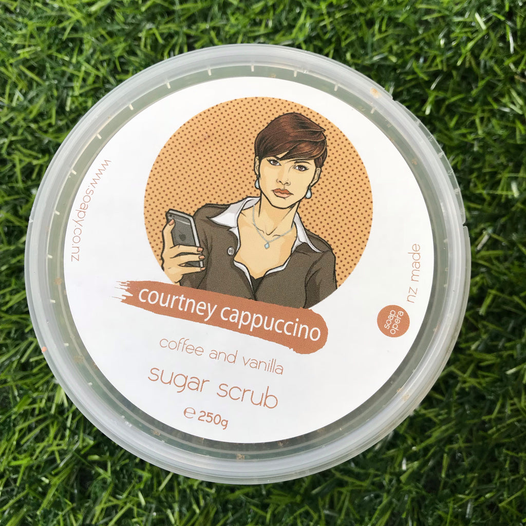 Vanilla Coffee Sugar Scrub 200g