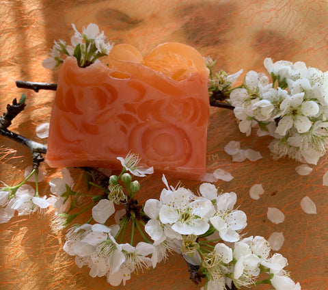 Peachie Loaf Soap 100gm