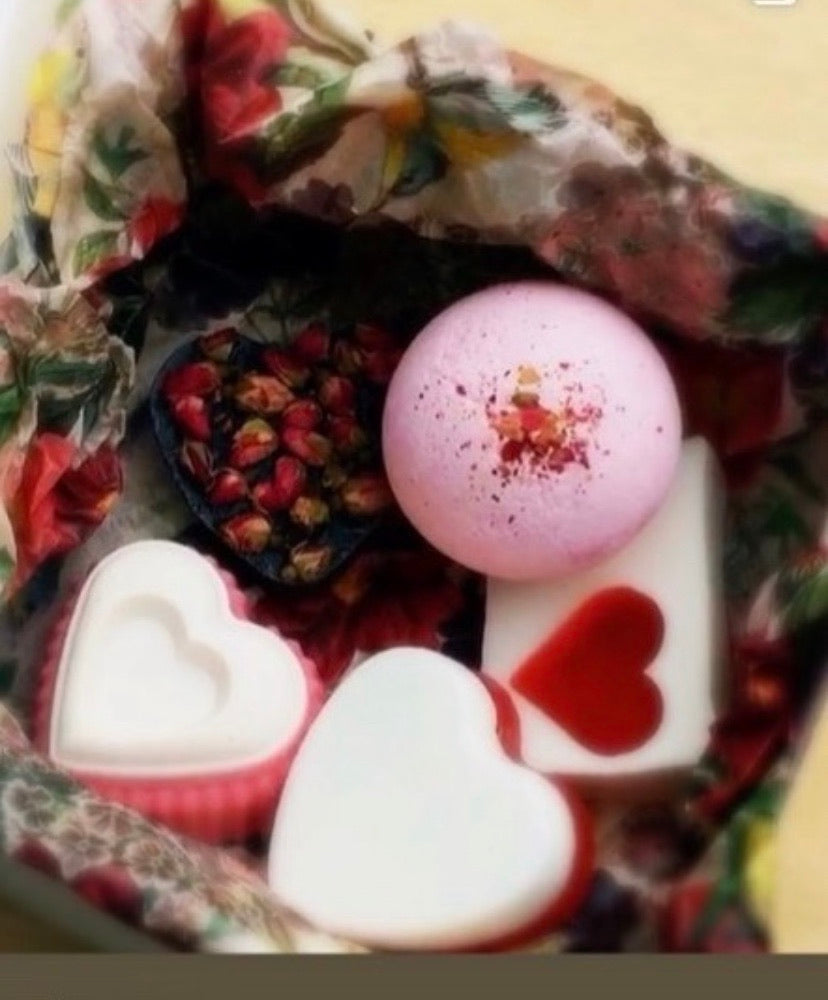 Heart Soap Gift Box