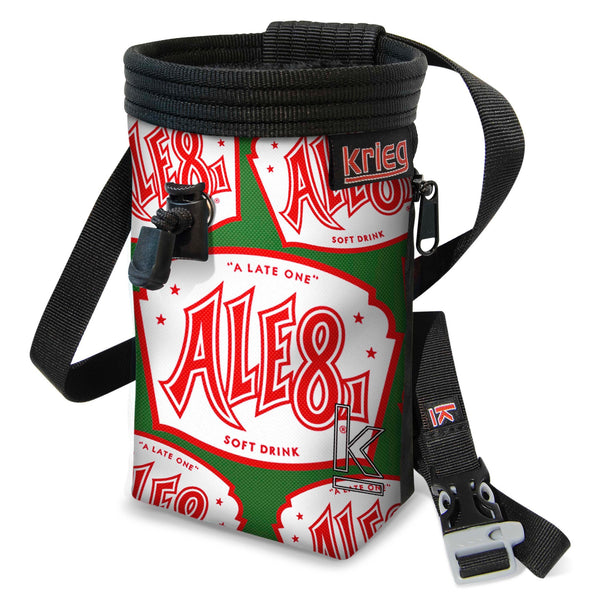 Ale8 chalk bag project.