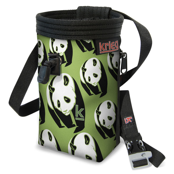 Panda Power Climbing Chalk Bag Krieg