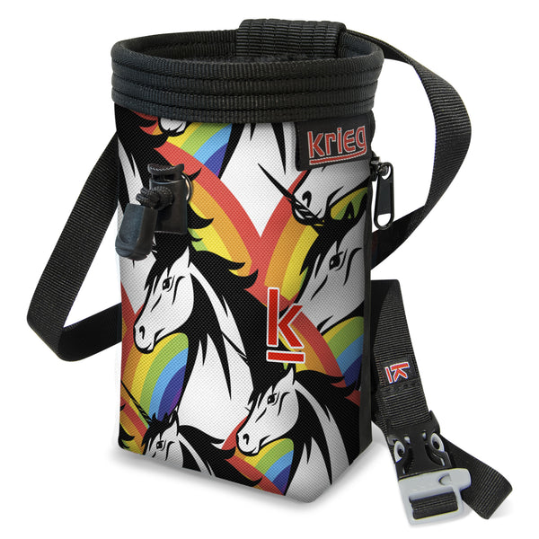 Unicorn Power Believe Climbing Chalk Bag