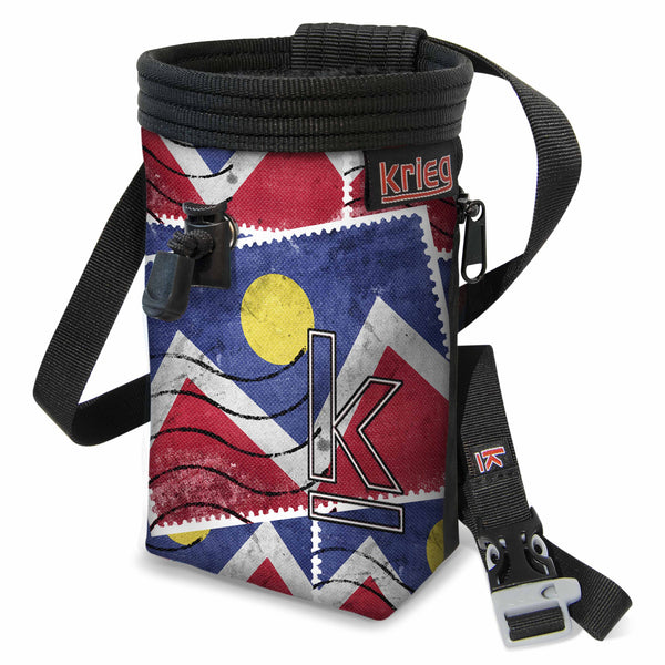 Mountains Stamp chalk bag Krieg Climbing