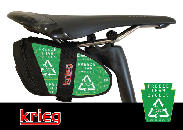 Freeze Thaw Custom Krieg Cycling Bike bag