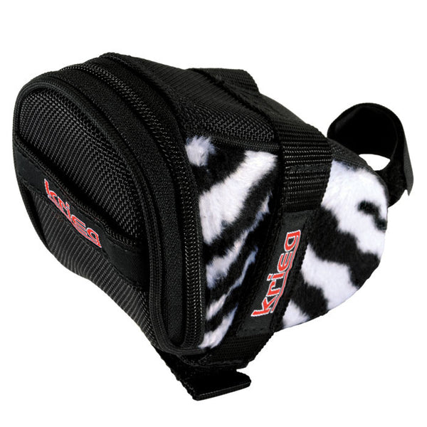 Zebra Krieg Cycling Saddle Bag Seat Wedge