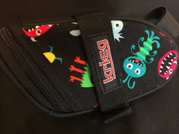Little Monsters inside Cycling Bag Seat Wedge Krieg