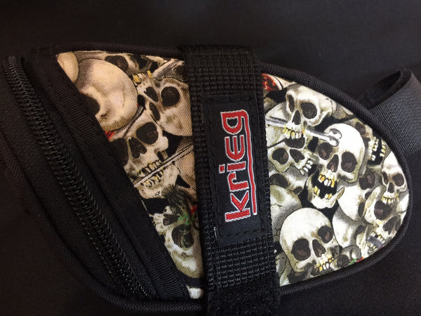Skull Chaos Krieg Cycling Bag Seat Wedge