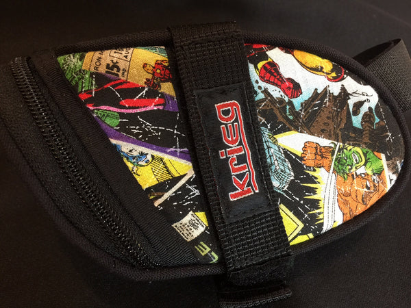 Super Comic Krieg Cycling Bag Seat Wedge