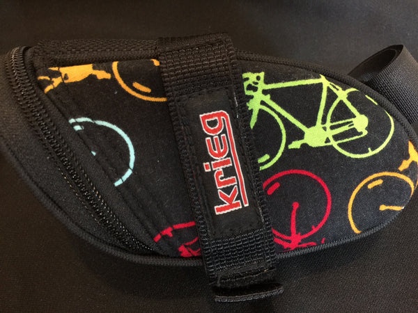 Bikes Colors Cycling Saddle Bag Seat Wedge Krieg