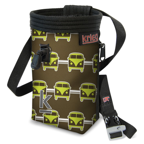 Hippy van chalk bag Krieg Climbing