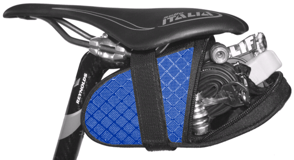 Bomber Blue Ripstop Saddle Bag Seat Wedge Krieg